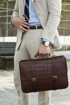 I'm feeling the briefcase