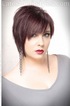 Sleek Short Hairstyle with Texture