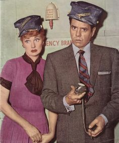 """""""I Love Lucy"""" ~ Lucille Ball and Desi Arnez Classic Hollywood, In Hollywood, Hollywood Glamour, I Love Lucy Episodes, The Great Train Robbery, William Frawley, I Love Lucy Show, Vivian Vance, Queens Of Comedy"""