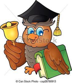 "Photo from album ""Расписание уроков"" on Yandex. Owl Classroom, Classroom Decor, Owl Cartoon, Cartoon Kids, School Border, School Timetable, School Painting, Grande Section, School Clipart"