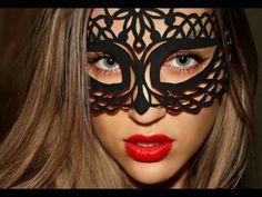 Шаблоны: новогодние маски своими руками из бумаги