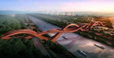 Chinese knot bridge - Next studio