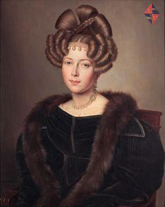 Jan-Baptist van der Hulst (1790-1862) — Portrait of Maria Cornelia Gravin van Wassenaer,  1829 (1772×2229)
