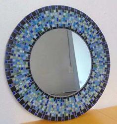 mosaicos decorativo espejos a partir de
