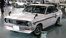 This coupe style compact is also Nissan Sunny. My father used to have this.