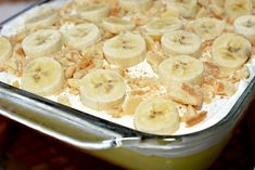 Banana Pudding Poke Cake - The Cookin Chicks - - All the flavors of Banana Cream Pie come together in this poke cake! Poke Cakes, Cupcake Cakes, Cupcakes, Cake Cookies, Pudding Cake Mix, Banana Pudding Poke Cake, Strawberry Pretzel Salad, Chicken Parmesan Casserole, Chicken Bacon