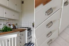 I dream of a white kitchen!! white with wood    http://mackapar.blogspot.com/2011/11/ronnebygatan.html