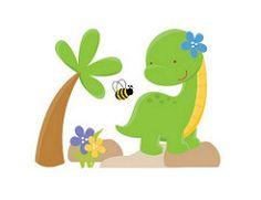 (22) Vinilos, Viniles, Decoracion Infantil, Niños, Niñas - Bs. 10.780,00 en Mercado Libre #vinilo #decorativo #infantil #dinosaurio #arbol #flor