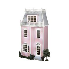 QuickBuild™ Playscale Townhouse by Real Good Toys Dollhouse Ideas, Dollhouse Miniatures, Real Good Toys, Madame Alexander Dolls, Doll Houses, Townhouse, Mansions, House Styles, Playroom