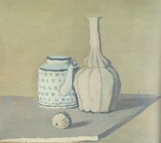 Giorgio Morandi,still life, 1951