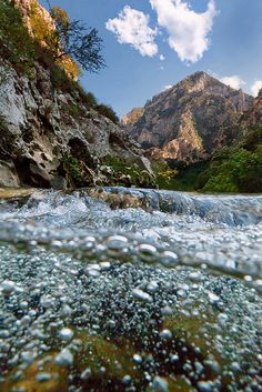 'Picos de Europa' National Park in northern Spain -     Rio Deva by TobiasRichter
