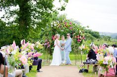 Matt and Alice's wedding blessing ceremony at their farm in Axminster, Devon. 27th June 2015. Ceremony designed and conducted by Diana Saxby www.gracetheday.com. Photos kindly supplied by Helen Cawte Photography www.helencawtephotography.com...