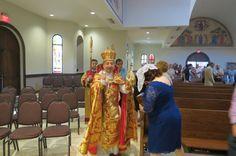 Rev. Fr. Zacharia Easter service
