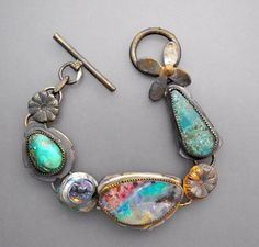 Opal and Turquoise Bracelet