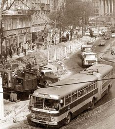 1970 Kálvin tér, Budapest Old Pictures, Old Photos, Vintage Photos, Anno Domini, Sand And Water, History Photos, Most Beautiful Cities, Budapest Hungary, Historical Photos