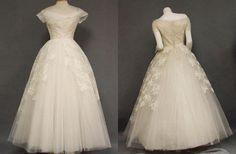 Vintage Wedding Dresses love