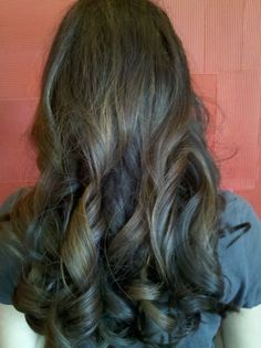 Back of curls done by Natalie