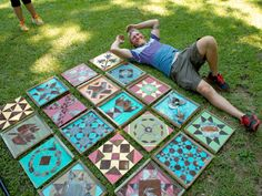 Learn about creative genius Nathan Winkler and his steel quilt workshop >> http://blog.diynetwork.com/maderemade/2015/08/21/creative-genius-nathan-winkler-and-steel-quilt-workshop/?soc=pinterest