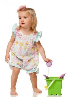 Spring/Summer 2014 is here! These adorable rompers by Flap Happy are great for those carefree summer days!