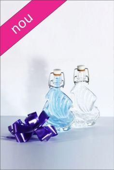 Sticla nunta 40 ml Vapor, prevazuta cu dop de sarma care inchide ermetic. Pretul sticlei include dopul ermetic.