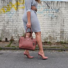 a897c6caa52c78 Workoutfit Nude Heels Handbag  Designerheels  Casadei  workoutfitideas   dress  knitdress