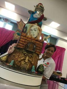 Piece A Cake by Glenda! Puerto Rico Sugar Art Competicion!
