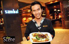Live Sports at Sambal Bar and Grill, Royal Orchid Sheraton Hotel and Towers, Bangkok. Words and photos by Paul Hutton, Bangkok Scene.