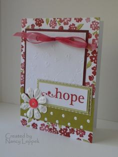 Love Stampin up DP!