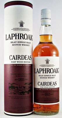 Laphroaig Cairdeas Port Wood Edition Single Malt Whisky 51.3% 70cl Limited Edition Port Wood Finish released for the Feis Ile 2013.