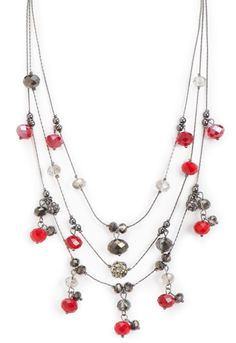 Rebecca 3 Strand Glitzy Necklace - AccessoriesChristopher & Banks | Christopher and Banks