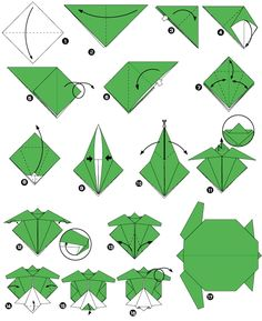 折り紙 - Origami - how to create any kind of object/animal/flower just folding the paper