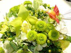 green wedding flowers - Google Search