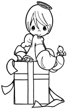 Coloring Pages: precious moments
