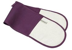 Double Oven Glove in Cassis