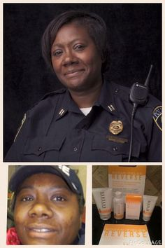 """I love stories like this one! Consultant & Ofcr Charlene Shrewsbury says... """"Being in the public eye for the past 15 years as a Law Enforcement Officer, I never dreamed I would be selling skincare products!... I love being make-up free! Because of R+F I know what I'll be doing when I retire. It has given me motivation to work this biz as hard as I can over the next 5 years so I won't worry about what I am going to do next."""" No sales or business experience required. Earn while you learn!"""