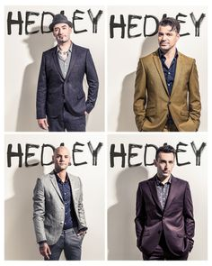 Hedley, Jacob Hoggard, Dave Rosin, Chris Crippin, Tommy Mac♥