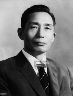 President Park Chung Hee of Korea. Set up military dictatorship. Continued speech even after assassination of his wife.