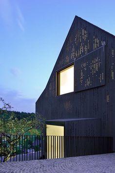 L3P Architekten renovates a two-storey half-timbered building in Switzerland