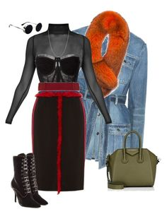Untitled #402 by lea-monrad-post on Polyvore featuring polyvore, fashion, style, Dolce&Gabbana, Yves Saint Laurent, Altuzarra, Alberta Ferretti, Givenchy, BERRICLE, Andrew Marc and clothing