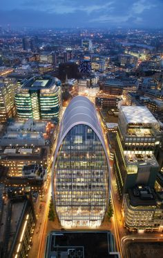 An atypical perspective, 60-70 St. Mary Axe by Foggo Associates.DBOX 2015
