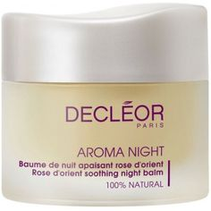 Decleor Rose d'Orient soothing night balm Do yourself a favor and get it - it will last and last, and your skin will thank you for it (this is coming from someone who's skin had a multi-month freak out that makes acne sounds like a lovely thing to have...)