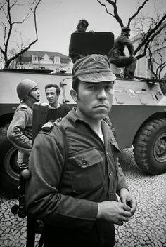 Salgueiro Maia no dia 25 de Abril de 1974 foto Alf