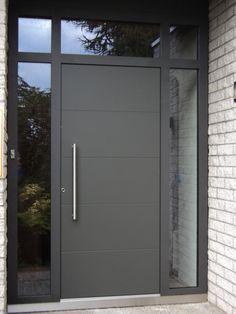 Resultado de imagen para Puertas metalicas modernas