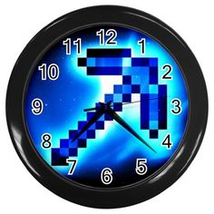 New Wall Clock Minecraft Creeper Mine Craft Minecraft Toys, Minecraft Party, Bedroom Themes, Kids Bedroom, Bedroom Ideas, Big Girl Rooms, Boy Room, Minecraft Decorations, Cool Kids Rooms