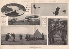 "1915 WW1 THE CORSAIRS OF THE SKIES, GERMAN ""TAUBE"" BELGIAN FRENCH AVIATION"