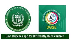Govt launches DGSE app for differently abled children