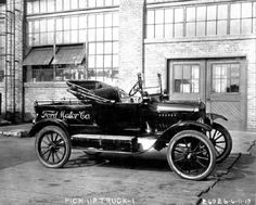 Model T Ford Truck From 1916 -
