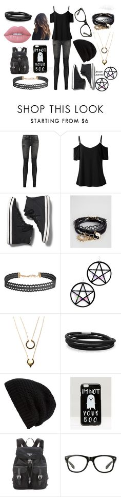 """""""More My Style 12/10/16"""" by lesson-learned ❤ liked on Polyvore featuring R13, Keds, ASOS, Humble Chic, Marina Fini, WithChic, BillyTheTree, Rick Owens, Prada and Lime Crime"""