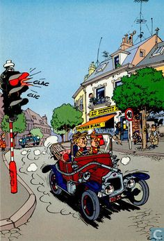 Carte postale - Bande dessinée: Robbedoes & Kwabbernoot - 47. Trésors du Journal de Spirou