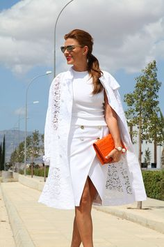 Since we all (some of us) struggle in relationships, at one moment or an other, at one level or an other, I thought of sharing few thoughts on this matter . Ramona Filip, Chloe Bag, Healthy Relationships, Tango, Jet Set, Lace Skirt, White Dress, Feminine, Street Style